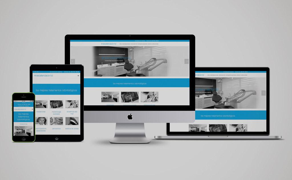 páginas web para clínicas dentales